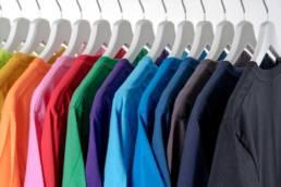 t-shirt kleuren voorbeelden